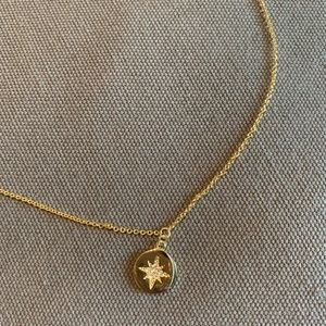Gold Northstar Pendant Necklace